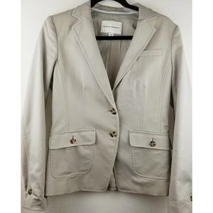 Banana Republic Cream Blazer Great Condition SZ 8